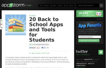 http://web.appstorm.net/roundups/20-back-to-school-apps-and-tools-for-students/