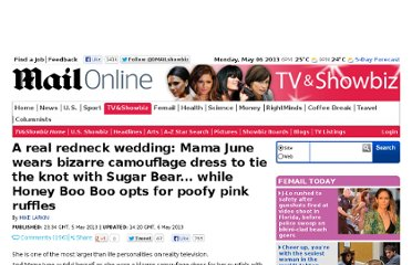 http://www.dailymail.co.uk/tvshowbiz/article-2319988/Mama-June-wedding-Honey-Boo-Boos-mom-wears-bizarre-dress-tie-knot-Sugar-Bear.html