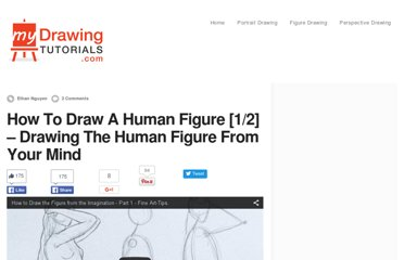 http://mydrawingtutorials.com/how-to-draw-a-human-figure/