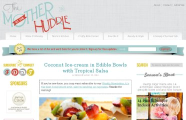 http://www.themotherhuddle.com/coconut-ice-cream-in-edible-bowls-with-tropical-salsa/