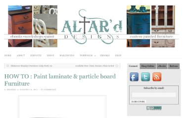 http://altard.com/altard/how-to-paint-laminate-particle-board-furniture/