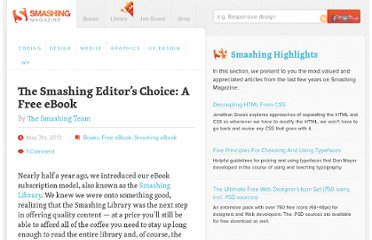 http://www.smashingmagazine.com/2013/05/07/smashing-editors-choice-free-ebook/