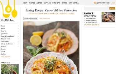 http://www.thekitchn.com/spring-recipe-carrot-ribbon-fettuccine-guest-post-from-erin-gleeson-of-the-forest-feast-189003