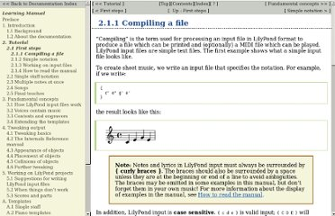 http://lilypond.org/doc/v2.12/Documentation/user/lilypond-learning/Compiling-a-file#Compiling-a-file