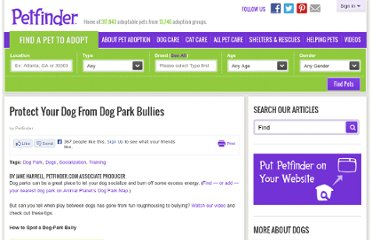 http://www.petfinder.com/dogs/dog-care/dog-park-bullies/