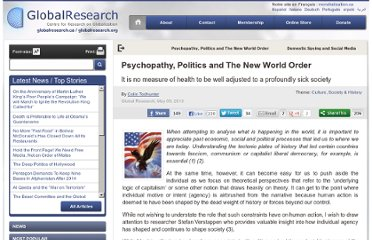http://www.globalresearch.ca/psychopathy-politics-and-the-new-world-order/5334458