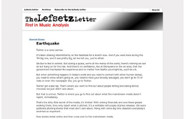 http://lefsetz.com/wordpress/index.php/archives/2013/05/09/earthquake/