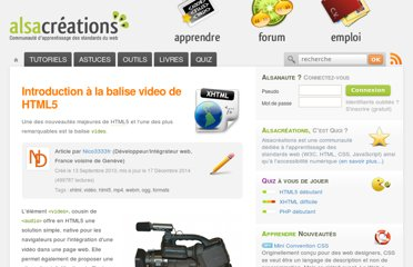 http://www.alsacreations.com/article/lire/1125-introduction-balise-video-html5-mp4-h264-webm-ogg-theora.html