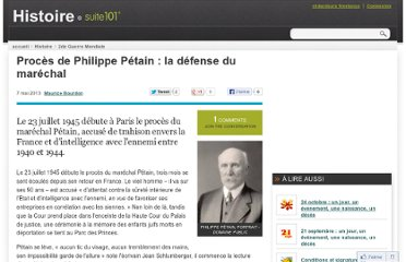 http://suite101.fr/article/proces-de-philippe-petain--la-defense-du-marechal-a37168