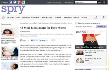 http://spryliving.com/articles/43-mini-meditations-for-busy-moms/