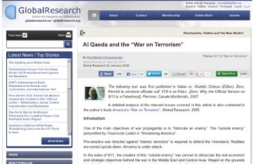 http://www.globalresearch.ca/al-qaeda-and-the-war-on-terrorism/7718