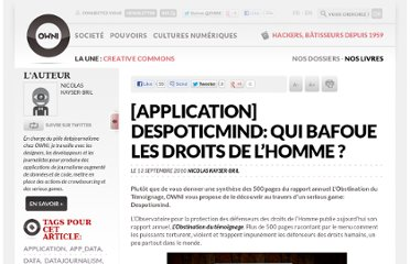http://owni.fr/2010/09/13/application-despoticmind-qui-bafoue-les-droits-de-l-homme/