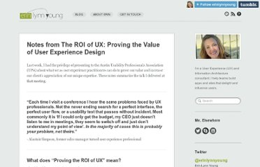 http://www.erinlynnyoung.com/603/roi-ux-value-of-user-experience-design-notes/
