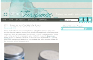 http://somethingturquoise.com/2012/11/02/diy-mason-jar-cookie-mix-favor/
