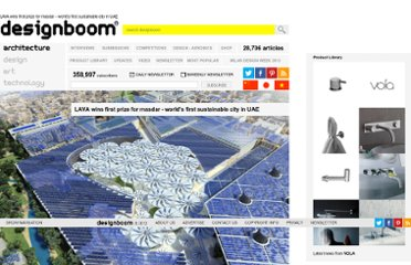 http://www.designboom.com/weblog/cat/9/view/7394/lava-wins-first-prize-for-masdar-worlds-first-sustainable-city-in-uae.html