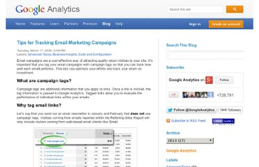 http://analytics.blogspot.com/2009/03/tips-for-tracking-email-marketing.html