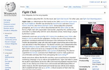 http://en.wikipedia.org/wiki/Fight_Club