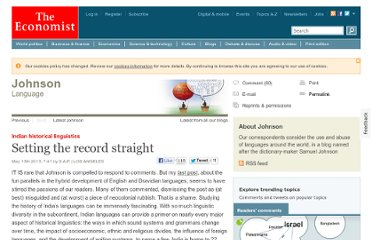 http://www.economist.com/blogs/johnson/2013/05/indian-historical-linguistics