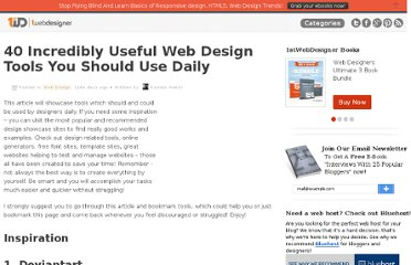 http://www.1stwebdesigner.com/design/useful-web-design-tools-daily/