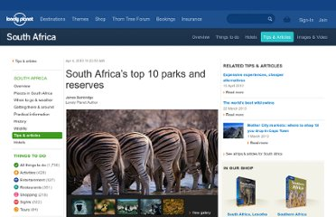 http://www.lonelyplanet.com/south-africa/travel-tips-and-articles/77691?intaffil=lpemail
