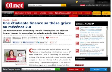 http://www.01net.com/editorial/594925/une-etudiante-finance-sa-these-grace-au-mecenat-2-0/#?xtor=EPR-1-[NL-01net-Actus]-20130513