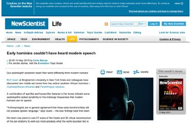 http://www.newscientist.com/article/dn23532-early-hominins-couldnt-have-heard-modern-speech.html