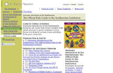 http://smithsonianeducation.org/officialkidsguide/links.html