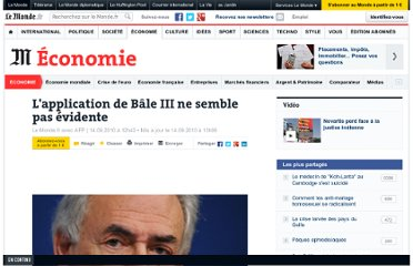 http://www.lemonde.fr/economie/article/2010/09/14/l-application-de-bale-iii-ne-semble-pas-evidente_1410881_3234.html