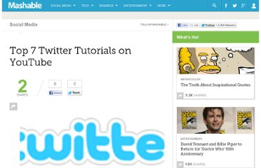 http://mashable.com/2009/05/31/twitter-tutorials-youtube/