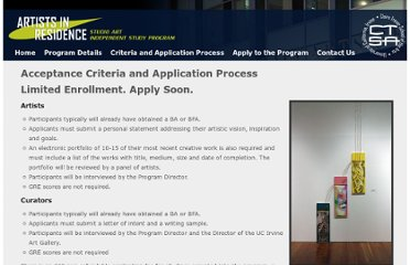 http://air.arts.uci.edu/criteria-and-application-process.html