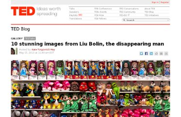 http://blog.ted.com/2013/05/15/10-stunning-images-from-liu-bolin-the-disappearing-man/
