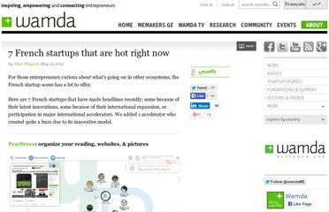 http://www.wamda.com/2013/05/7-french-startups-that-are-hot-right-now