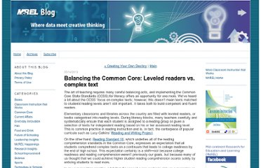 http://mcrel.typepad.com/mcrel_blog/2013/05/balancing-the-common-core-leveled-readers-vs-complex-text.html