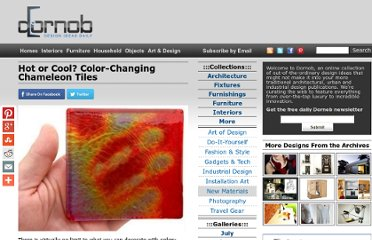 http://dornob.com/hot-or-cool-color-changing-chameleon-tiles/