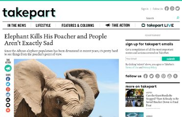 http://www.takepart.com/article/2013/05/15/african-elephant-poacher-killed-zimbabwe#.UZSxfZrJuw4.twitter