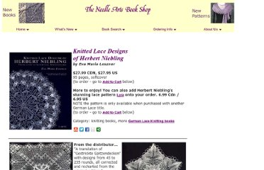 http://www.needleartsbookshop.com/knitting_books/Knitted_Lace_Designs_of_Herbert_Niebling.html