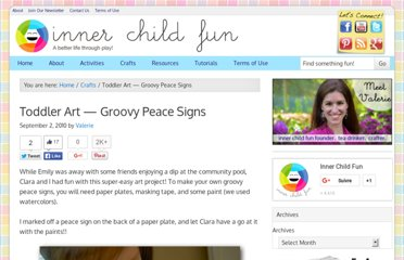 http://innerchildfun.com/2010/09/toddler-art-groovy-peace-signs.html