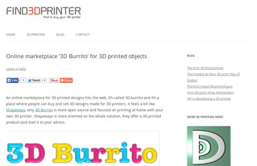 http://www.find3dprinter.com/online-marketplace-3d-burrito-for-3d-printed-objects/