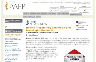 http://www.aafp.org/online/en/home/publications/news/news-now/practice-professional-issues/20130515ehrmuaudit.html
