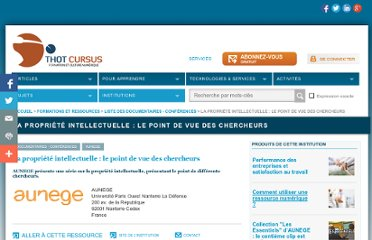 http://cursus.edu/institutions-formations-ressources/formation/20148/propriete-intellectuelle-point-vue-des-chercheurs/