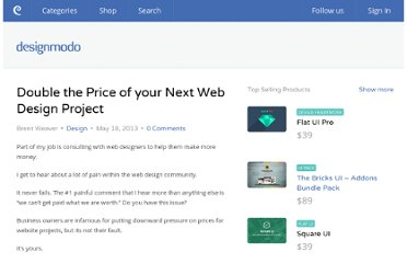 http://designmodo.com/double-price-web-design-project/
