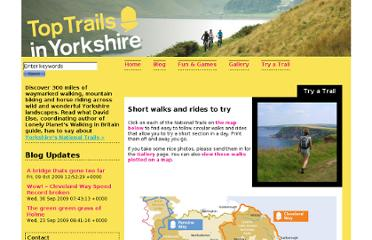 http://www.yorkshire.com/nationaltrails/try-a-trail.htm