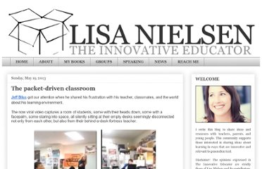 http://theinnovativeeducator.blogspot.com/2013/05/the-packet-driven-classroom.html
