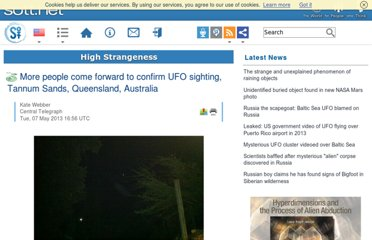 http://www.sott.net/article/261585-More-people-come-forward-to-confirm-UFO-sighting-Tannum-Sands-Queensland-Australia