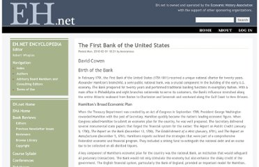 http://eh.net/encyclopedia/article/cowen.banking.first_bank.us