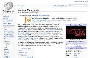 http://en.wikipedia.org/wiki/Darker_than_Black