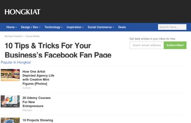 http://www.hongkiat.com/blog/tips-tricks-for-your-business-facebook-fan-page/