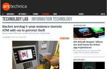 http://arstechnica.com/information-technology/2013/05/hacker-serving-5-year-sentence-invents-atm-add-on-to-prevent-theft/