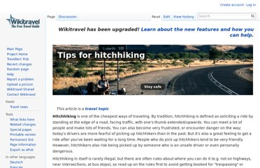 http://wikitravel.org/en/Tips_for_hitchhiking