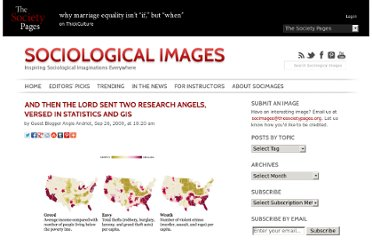 http://thesocietypages.org/socimages/2009/09/26/guest-post-and-then-the-lord-sent-two-research-angels-versed-in-statistics-and-gis/